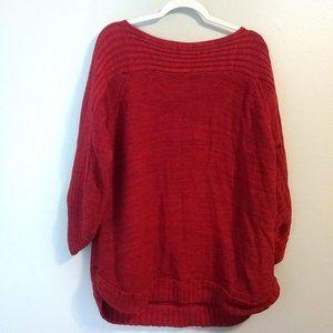 Red Dressbarn Sweater